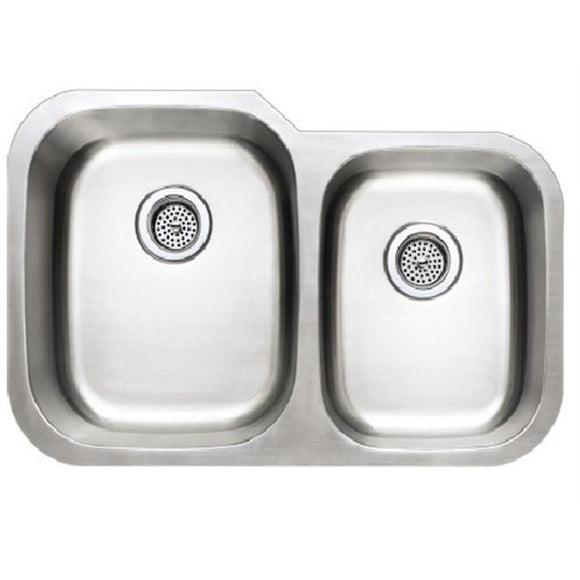 Presidential Madison-Small 18 Gauge Undermount Stainless Steel Sink - Chariotwholesale