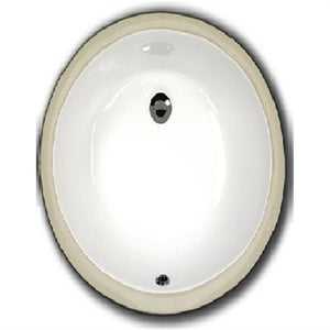 Oasis 157 Bathroom Porcelain Sink - SpeedySinks