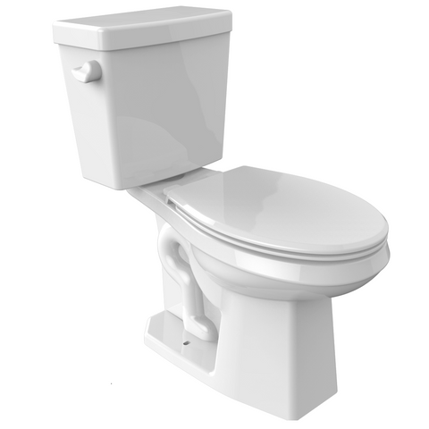 Oasis Niles Two-Piece 1.28 GPF Elongated Bowl Toilet - SpeedySinks