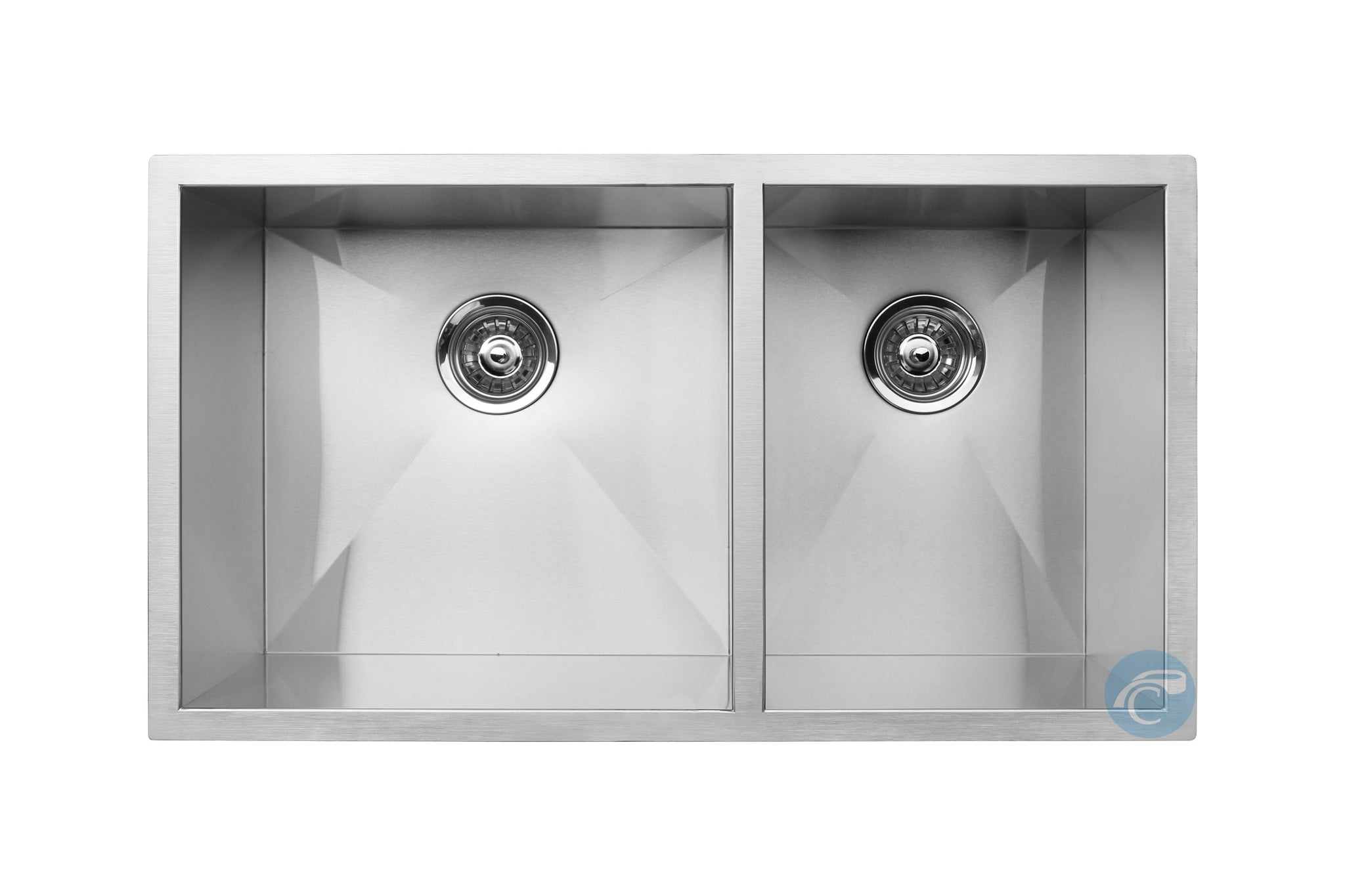 Master Chef Orleans 6040 Stainless Steel Double Bowl Culinary Sink