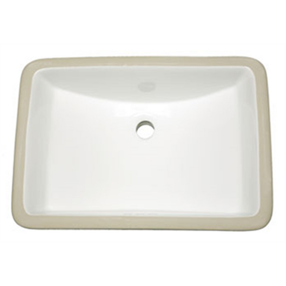 Oasis Phoenix White Small Bathroom Porcelain Sink