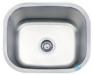 Liberty Quincy Laundry/Utility 18 Gauge Undermount Stainless Steel Sink - Chariotwholesale