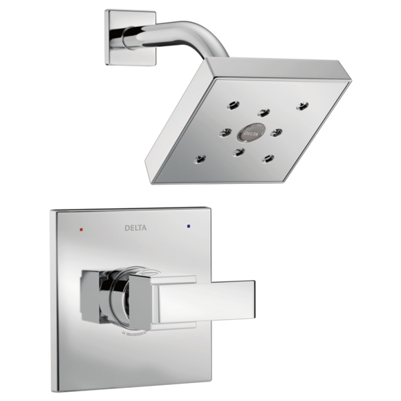 Delta Monitor 14 Series H2Okinetic Shower Trim Only in Chrome