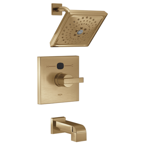 Delta Modern Temp2O 14 Series Tub/Shower Trim Only in Champagne Bronze