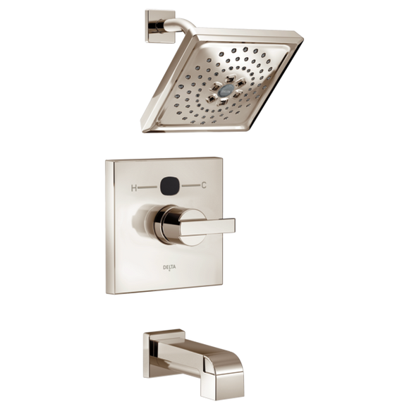 Delta Modern Temp2O 14 Series Tub/Shower Trim Only in Polished Nickel
