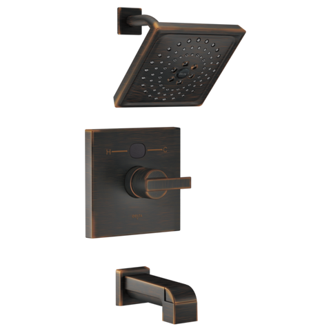 Delta Modern Temp2O 14 Series Tub/Shower Trim Only in Venetian Bronze