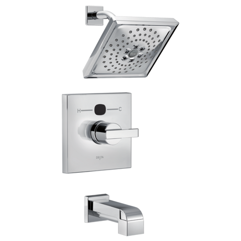 Delta Modern Temp2O 14 Series Tub/Shower Trim Only in Chrome
