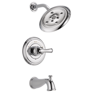 Delta Cassidy Monitor 14 Series H2Okinetic Tub/Shower Trim Only in Chrome