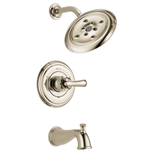 Delta Cassidy Monitor 14 Series H2Okinetic Tub/Shower Trim Only in Polished Nickel