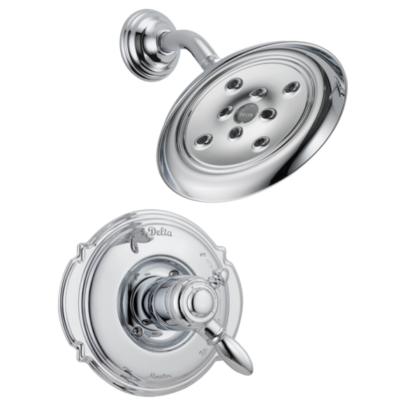 Delta Victorian Monitor 17 Series H2Okinetic Shower Trim Only in Chrome - Chariotwholesale