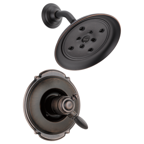 Delta Victorian Monitor 17 Series H2Okinetic Shower Trim Only in Venetian Bronze