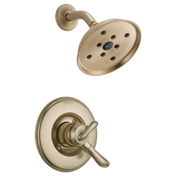 Delta Linden Monitor 17 Series H2Okinetic Shower Trim Only in Champagne Bronze - SpeedySinks