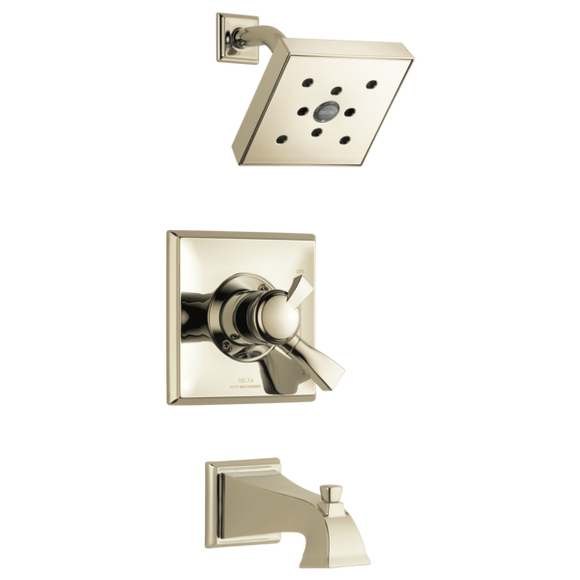 Delta Dryden Monitor 17 Series H2Okinetic Tub/Shower Trim Only in Polished Nickel