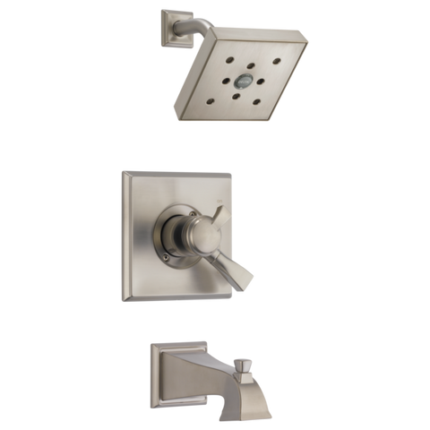 Delta Dryden Monitor 17 Series H2Okinetic Tub/Shower Trim Only in Spotshield Stainless
