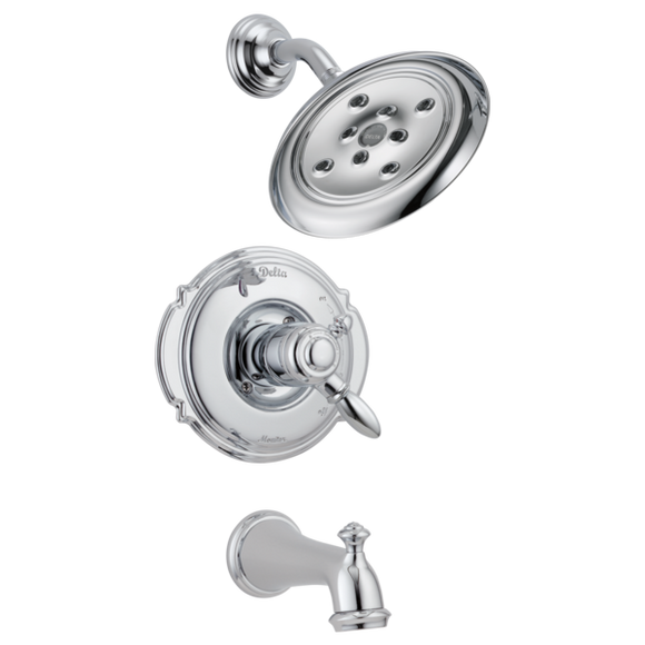 Delta Victorian Monitor 17 Series H2Okinetic Tub/Shower Trim Only in Chrome