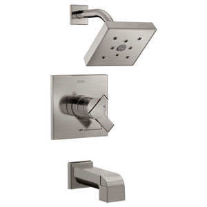Delta Monitor 17 Series H2Okinetic Tub/Shower Trim Only in Stainless - SpeedySinks
