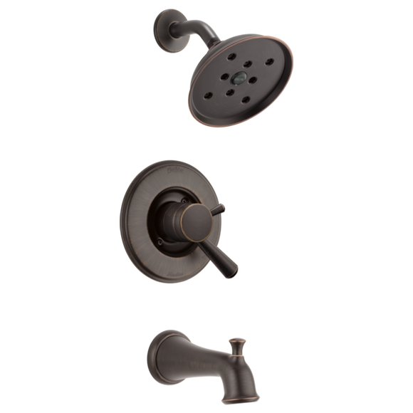 Delta Linden Monitor 17 Series H2Okinetic Tub/Shower Trim Only in Venetian Bronze