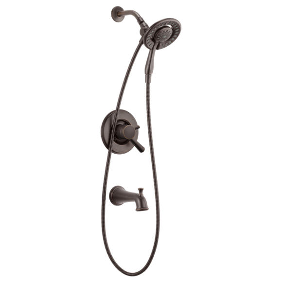 Delta Dryden Monitor 17 Series Tub/Shower Trim with In2ition in Venetian Bronze