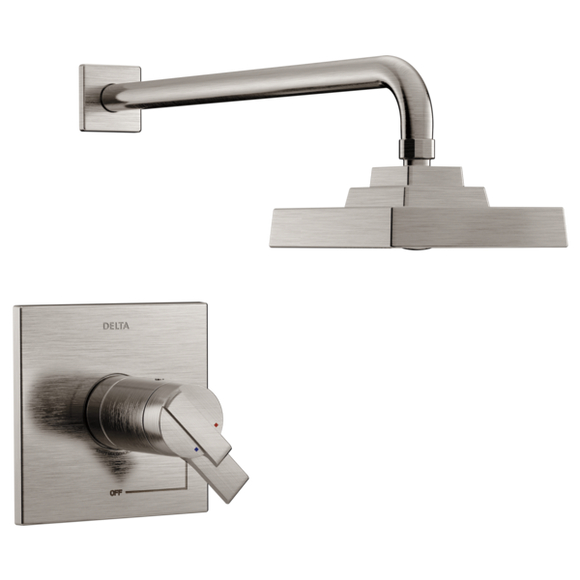 Delta Ara TempAssure 17T H2Okinetic Shower Trim Only in Stainless