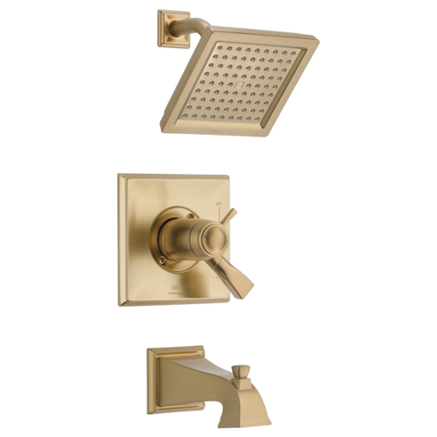 Delta Dryden TempAssure 17T Series Tub/Shower Trim Only in Champagne Bronze