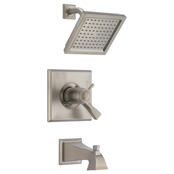 Delta Dryden TempAssure 17T Series Tub/Shower Trim Only in Spotshield Stainless