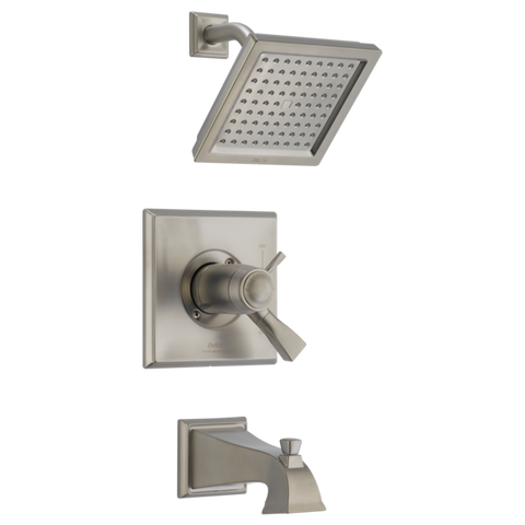 Delta Dryden TempAssure 17T Series Tub/Shower Trim Only in Stainless