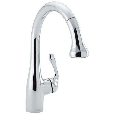 Hansgrohe 04066000 Allegro E CHROME Kitchen Faucet - Chariotwholesale