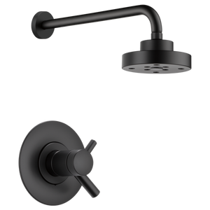 Brizo Jason Wu Tempassure Thermostatic Shower Trim Only in Matte Black