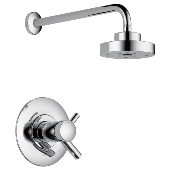 Brizo Odin Tempassure Thermostatic Shower Trim Only in Chrome - SpeedySinks