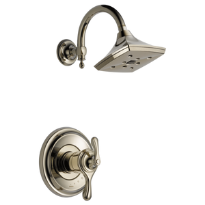 Brizo Charlotte Tempassure Thermostatic Shower Trim Only in Polished Nickel - SpeedySinks