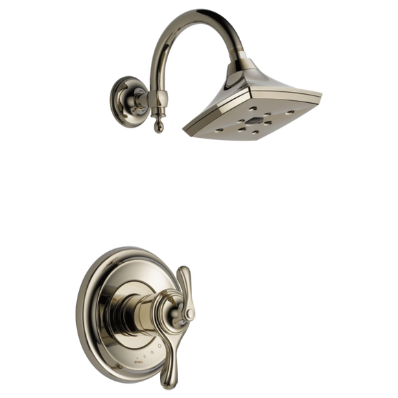 Brizo Charlotte Tempassure Thermostatic Shower Trim Only in Polished Nickel