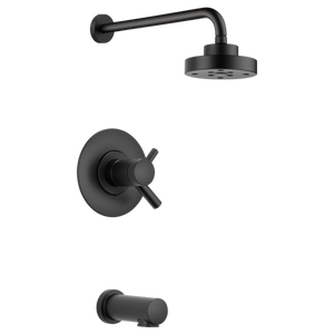 Brizo Jason Wu Tempassure Thermostatic Tub/Shower Trim Only in Matte Black - SpeedySinks