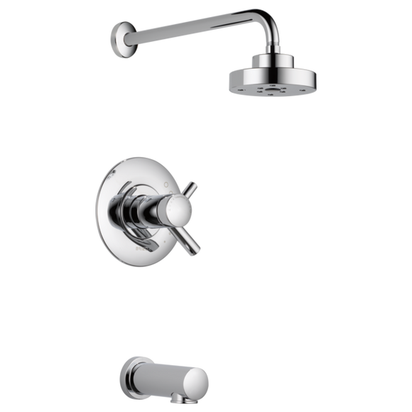 Brizo Odin Tempassure Thermostatic Tub/Shower in Chrome - SpeedySinks