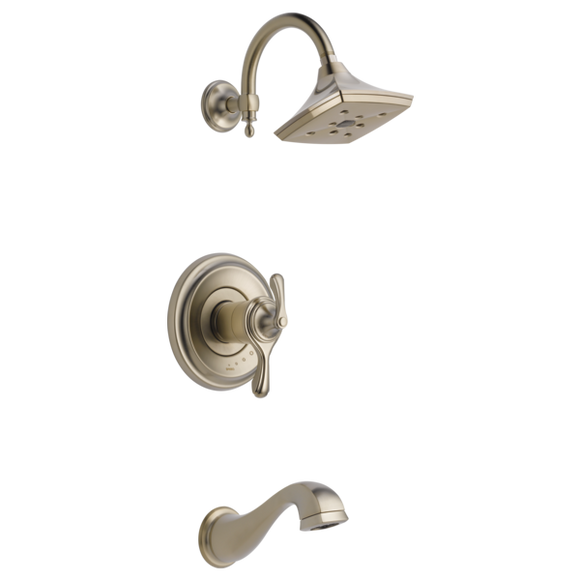 Brizo Charlotte Tempassure Thermostatic Tub/Shower Trim Only in Brushed Nickel