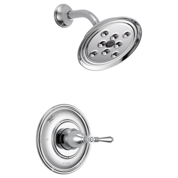 Brizo Traditional Pressure Balance Shower Trim Only in Chrome - SpeedySinks