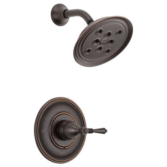 Brizo Traditional Pressure Balance Shower Trim Only in Venetian Bronze - SpeedySinks