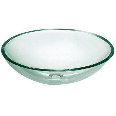 Oasis Tahoe Round Glass Vessel Bathroom Sink