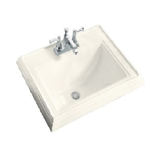 Oasis Talon Biscuit White Bathroom Porcelain Sink - SpeedySinks