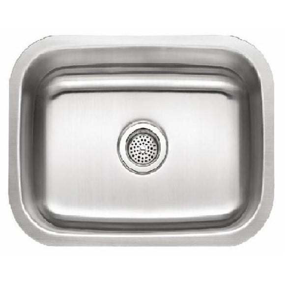 Presidential Taylor-18 18 Gauge Undermount Stainless Laundry/kitchenette Steel Sink - SpeedySinks