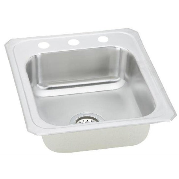 Wilson 3-hole Presidential 18 Gauge Topmount Sink - SpeedySinks