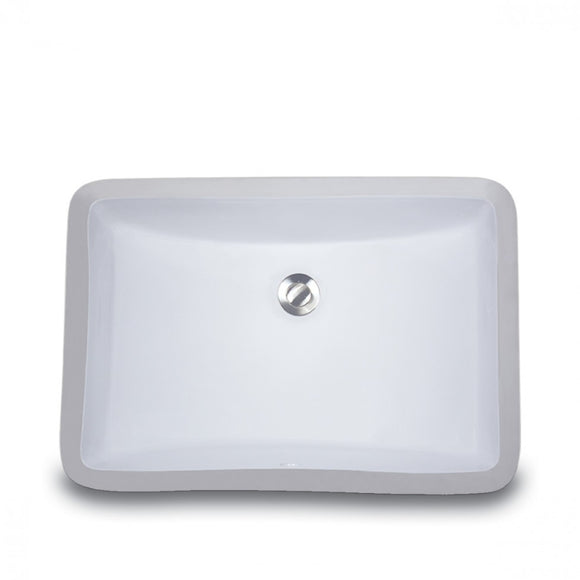 Oasis Canyon White Bathroom Porcelain Sink