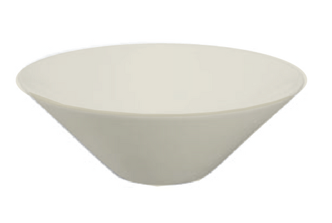 Oasis Carina Porcelain Vessel Sink in Bisque