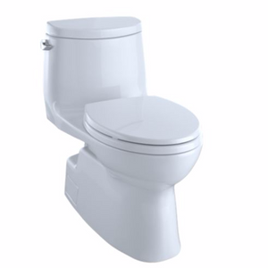 Toto Carlyle II One-Piece Toilet, 1.28 GPF, Elongated Bowl - SpeedySinks