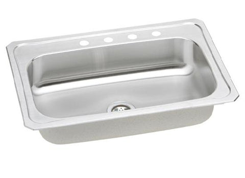Presidential Cleveland 4-Hole 18 Gauge Topmount Stainless Steel Sink - SpeedySinks