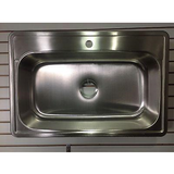 Presidential Cleveland 1-Hole 18 Gauge Topmount Stainless Steel Sink