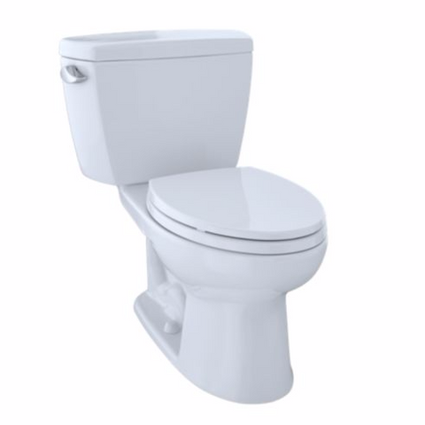 Toto Drake Two-Piece Toilet, 1.6 GPF, ADA Compliant, Elongated Bowl