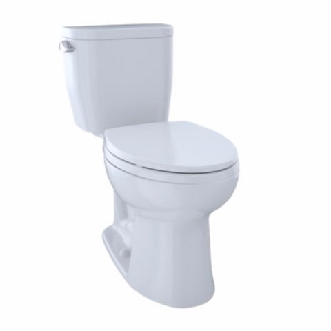 Toto Entrada Close Coupled Elongated Toilet 1.28GPF