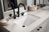 Oasis Canyon Compact Bathroom Porcelain Sink - SpeedySinks