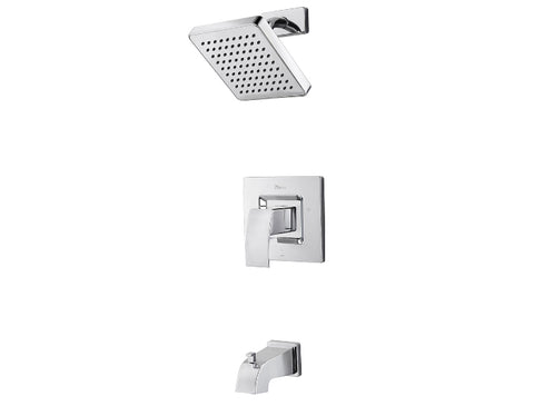 Pfister Kenzo 1-Handle Tub & Shower, Trim Only in Chrome