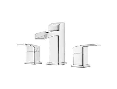 Pfister Kenzo Widespread Trough Bath Faucet in Chrome